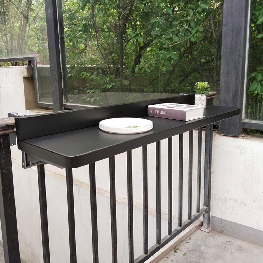 Balcony Railing Hanging Ranking TOP13 Table Multifunct Home Foldable Bar Max 76% OFF