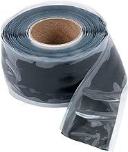 Gardner Bender HTP-1010 Repair Tape All Purpose, Silicone Self-sealing, 1-Inch Wide X 10-Feet Long X 20 mil Thick, Black