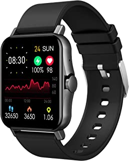 """1.69"""" Smart Watch Fitness Tracker with Heart Rate Monitor Bluetooth Call Full To"""