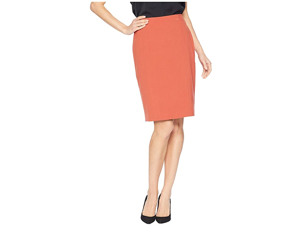 Nine West Stretch Skirt (Cinnamon) Women