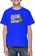 Haase Unlimited They See Me Rollin They Hatin' - Funny Youth T-Shirt