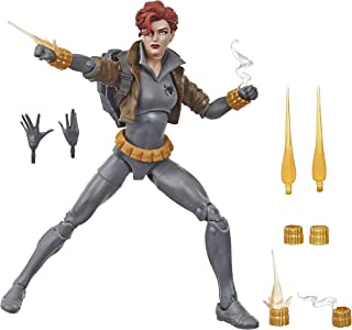 Boneco Marvel Legends Black Widow - Viúva Negra Traje Cinza - Hasbro