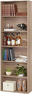 Homfa Estantería 6 Cubos Librerías para Libros CDs DVDs