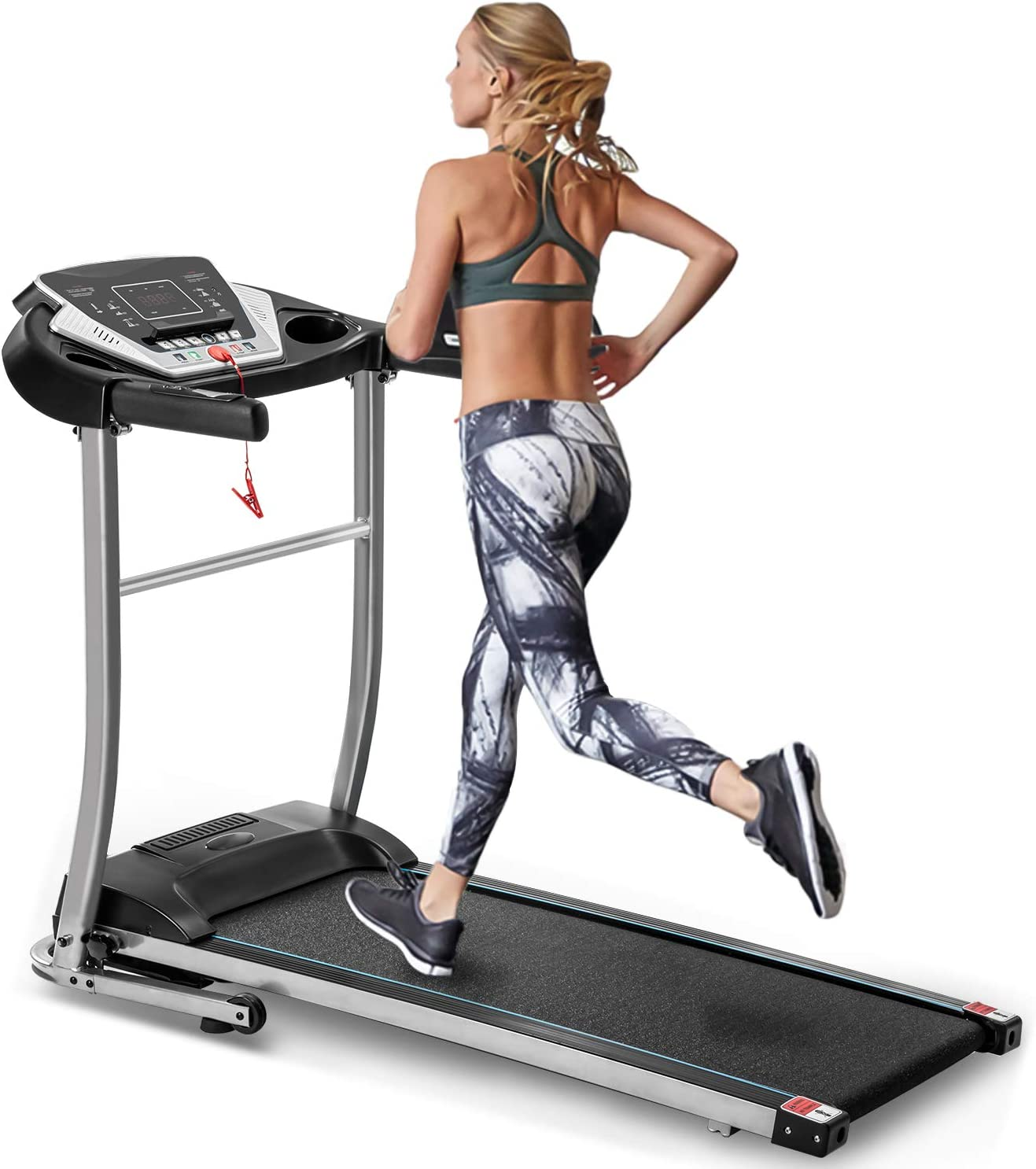 OFFicial site EAHOME Folding Treadmill Electric Ma Max 65% OFF Motorized Running