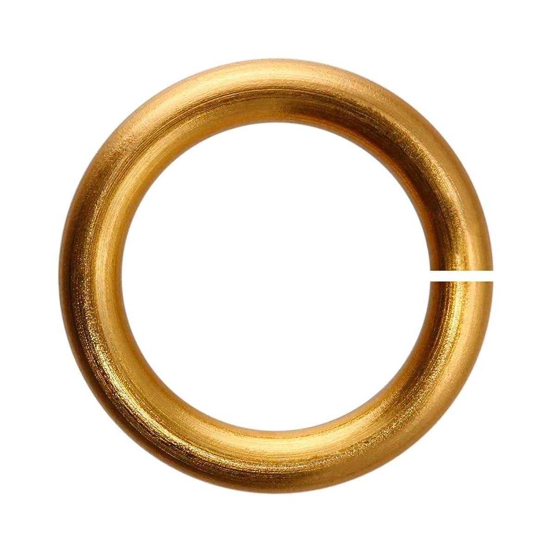 18-Gauge 6mm Bronze Enameled Copper Jump Rings - 1 ounce