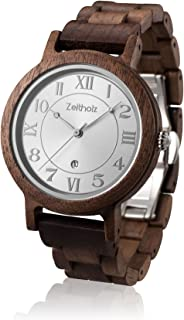 Wooden Watch for Women - 100% Natural Walnut Case - Eco-Friendly - Unique Watches for Women