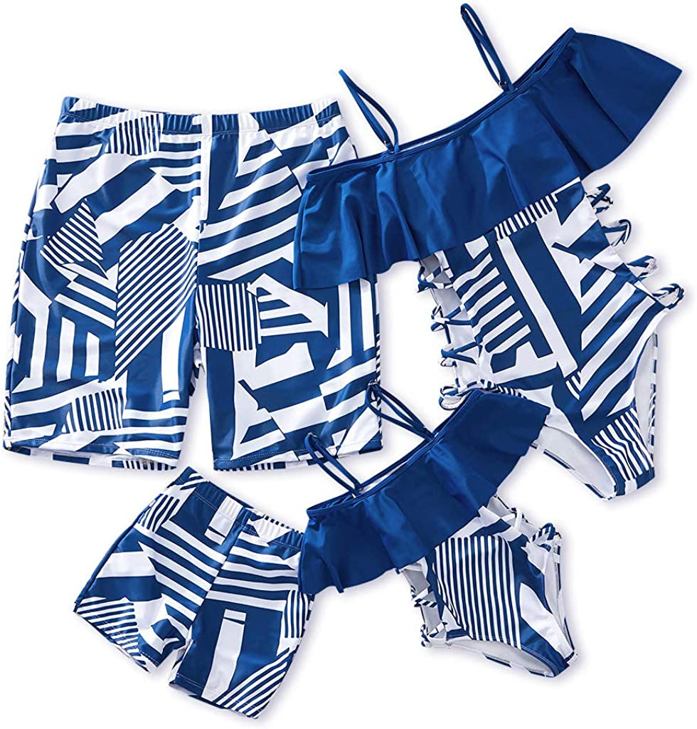 IFFEI Family Matching Swimwear Our shop OFFers the best service Max 61% OFF One Piece Suit Off Bathing Newest