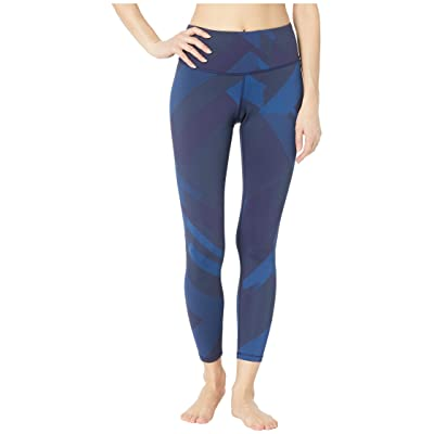 Brooks Formation Crop Pants (Navy Eclipse Jacquard) Women