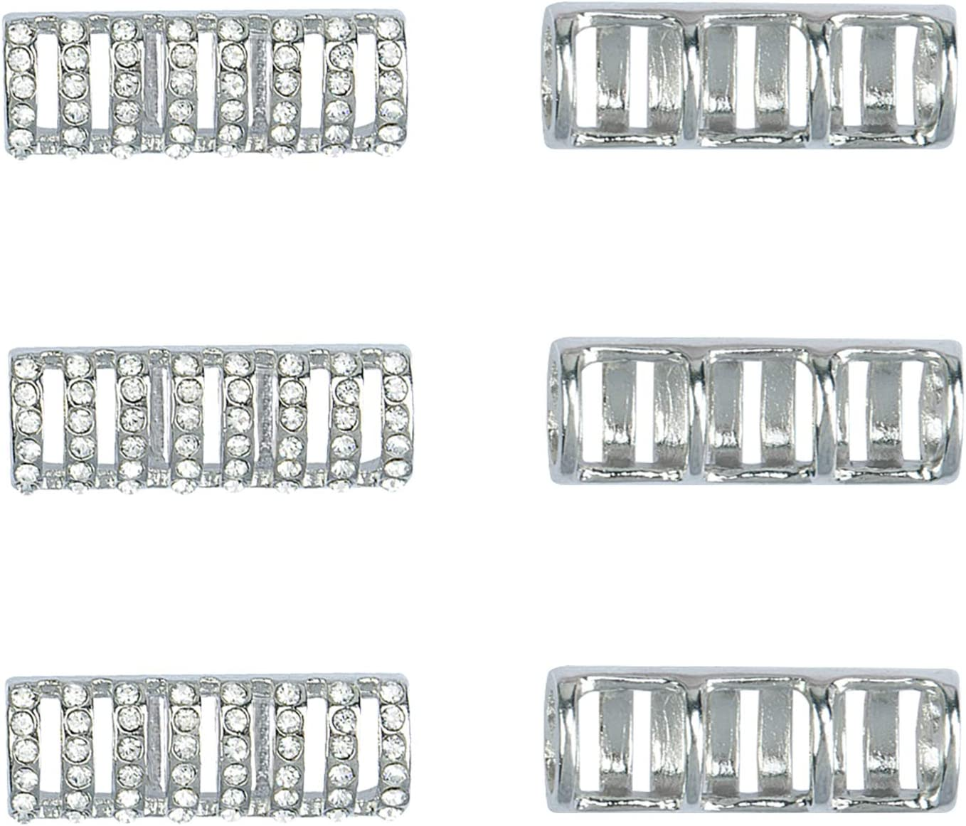 OMECKY Bead Connectors for Watch Diamond Making New life Silver free Band