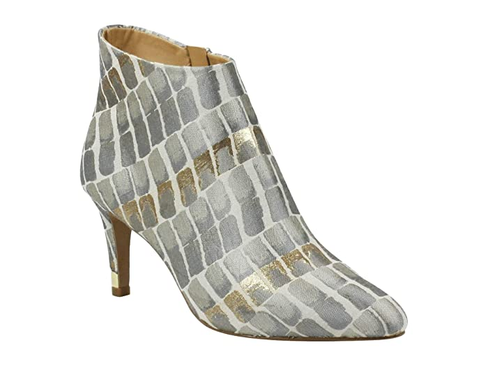 J. Renee Ranae (Taupe/Gold Croco) Women's Shoes