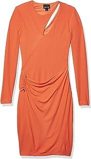 Just Cavalli Womens Long Sleeve Jersey Dress