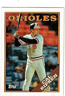 1988 Topps #650 Cal Ripken Jr. Orioles