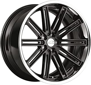 Coventry WARWICK Black Wheel with Painted Finish (20 x 10.5 inches /5 x 108 mm, 25 mm Offset)