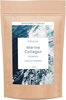 Pure Marine Collagen Peptides from Wild Caught Fish, Unflavoured & Odorless, 250g