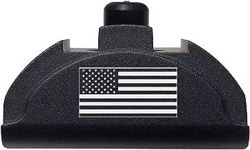Fixxxer Gen 4-5 Aluminum Grip Frame Plug for Glock 17 18 19 22 23 24 25 31 32 34 35 37 38 (American Flag)