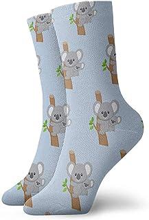 N / A, Los bonitos calcetines Australia Koala Bear para mujeres y hombres son los mejores para atletas con graduación, correr, volar, viajar y 30 cm.