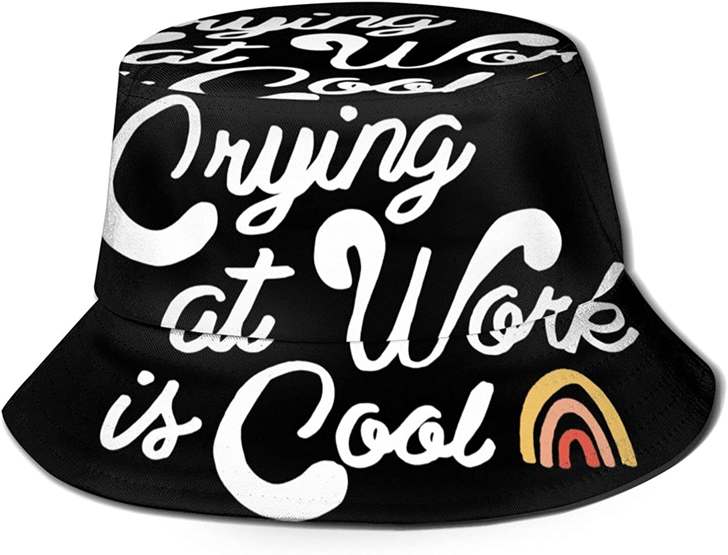 Crying Luxury goods is Cool1 Bucket Hat Price reduction Summer Fisher Sun Packable Unisex
