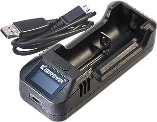 KEEPPOWER 純正 L1 LCD リチウムイオンバッテリー USB充電器 (充電器単体)