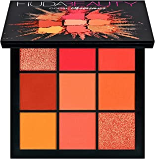 Coral Obsessions Eyeshadow Palette by Huda Beauty 9 Colors