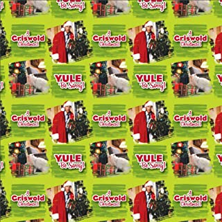 GRAPHICS & MORE Christmas Vacation Clark Pattern Premium Roll Gift Wrap Wrapping Paper