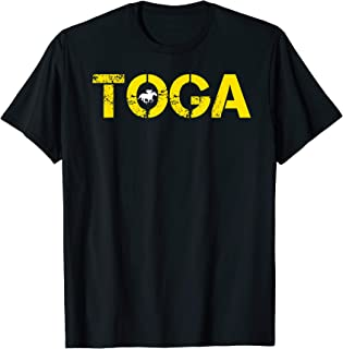 Toga Saratoga Springs Horse Racing T-Shirt