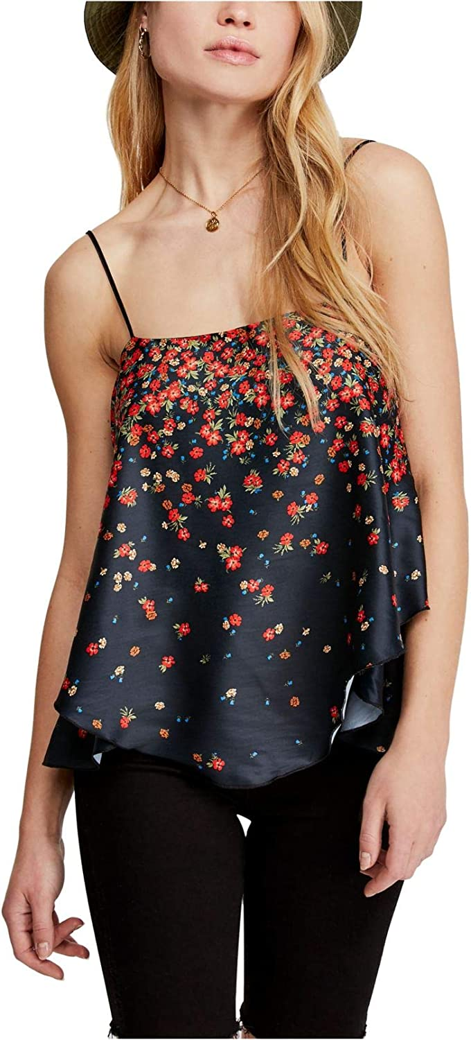 Free People Let Me Love Printed Camisole