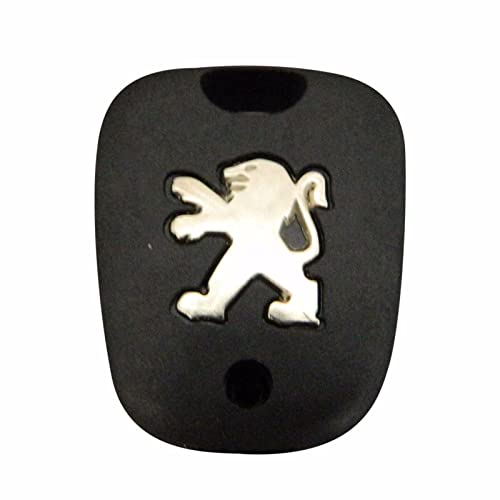 Bross BDP515 Yale Type 2-Button Remote Key Housing Case Cover For Peugeot 107 207