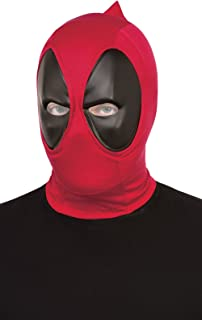 Rubie's Mens 68850 Deadpool Deluxe Fabric Overhead Mask Costume Mask