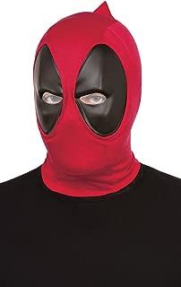 Rubie's Mens 68850 Deadpool Deluxe Fabric Overhead Mask Costume Mask