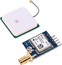 Icstation NEO-M8N GPS Module Triple Band TTL Port with Acitive Antenna for Arduino STM32 C51 Replace NEO-6M