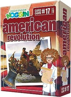 Professor Noggin's American Revolution Trivia Card Game - an Educational Trivia Based Card Game for Kids - Trivia, True or...