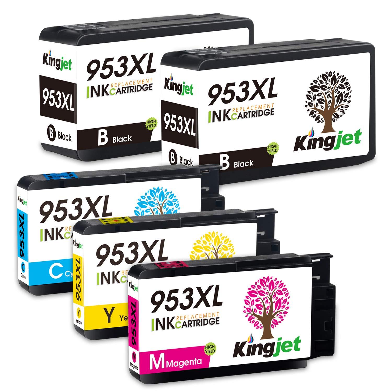 Kingjet 953XL - Cartuchos de Tinta de Repuesto para HP 953 953 XL ...