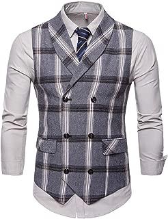 tweed patchwork waistcoat