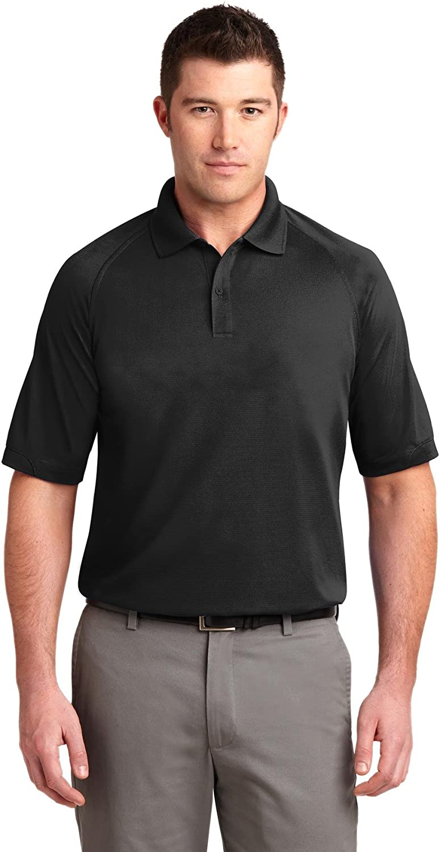 XtraFly Apparel Men's Tall Dry Zone Ottoman Polo Shirt TLK525