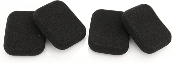 2 Pairs Sponge Ear Pads Ear Cups Replacement Ear Cushions For B&O Bang & Olufsen FORM 2i Headphones