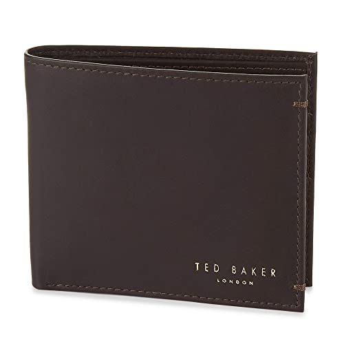 4083f2f2e0c638 Ted Baker Antonys Leather Wallet Chocolate Brown