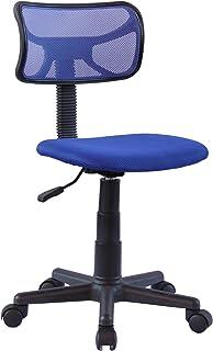 IDIMEX Chaise de Bureau pour Enfant Milan Fauteuil pivotant et Ergonomique sans accoudoirs, siège à roulettes avec Hauteur...