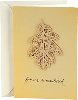 Hallmark Signature Sympathy Card (Forever Remembered)