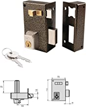 Slot Cvl 756A / 70 / ijzer geëmailleerd links cilinder 70 mm