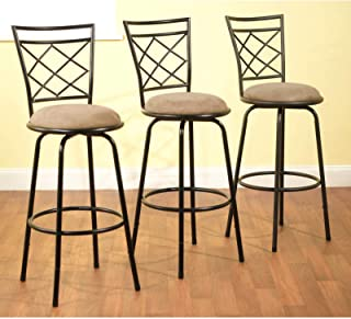 Best delta adjustable metal barstools 3 piece set black Reviews