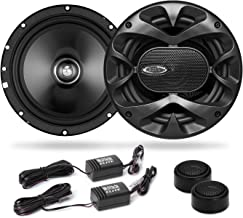BOSS Audio Systems Elite BCK65 Component Car Speaker System - 2 6.5 Inch Speakers, 2 Tweeters, 2 Crossovers, 350 Watts Max... photo