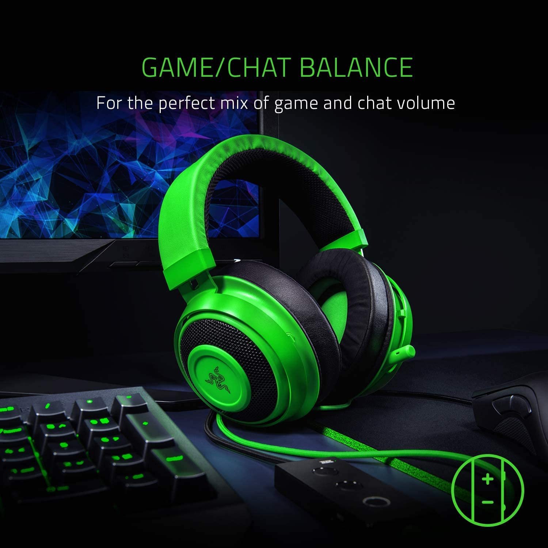 Razer Kraken Tournament Edition - Black Wired Gaming Headset with USB Audio Controller 9