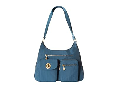 Baggallini International San Marino Satchel (Slate Blue) Satchel Handbags