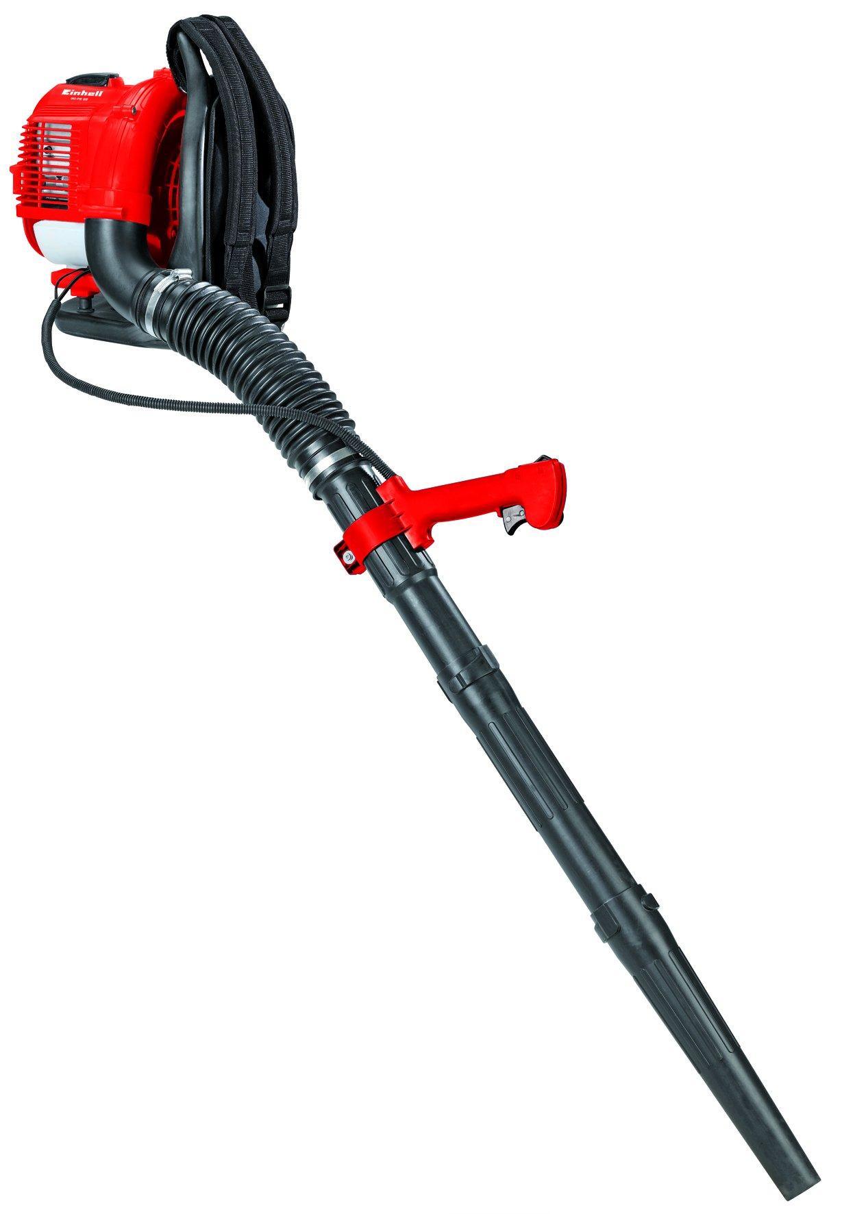 Einhell GC-PB 33 250kmh Negro, Rojo aspiradora de hojas - Soplador de hojas (900 W, 250 kmh, Negro, Rojo, Motor de gasolina de dos tiempos, 353 mm, 417 mm): Amazon.es: Bricolaje y herramientas