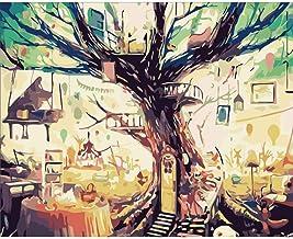 Bricolaje Pintura por Números para Adultos – Kit De Pintura Al Óleo para Niños Principiantes Decoración Hogareña – 16