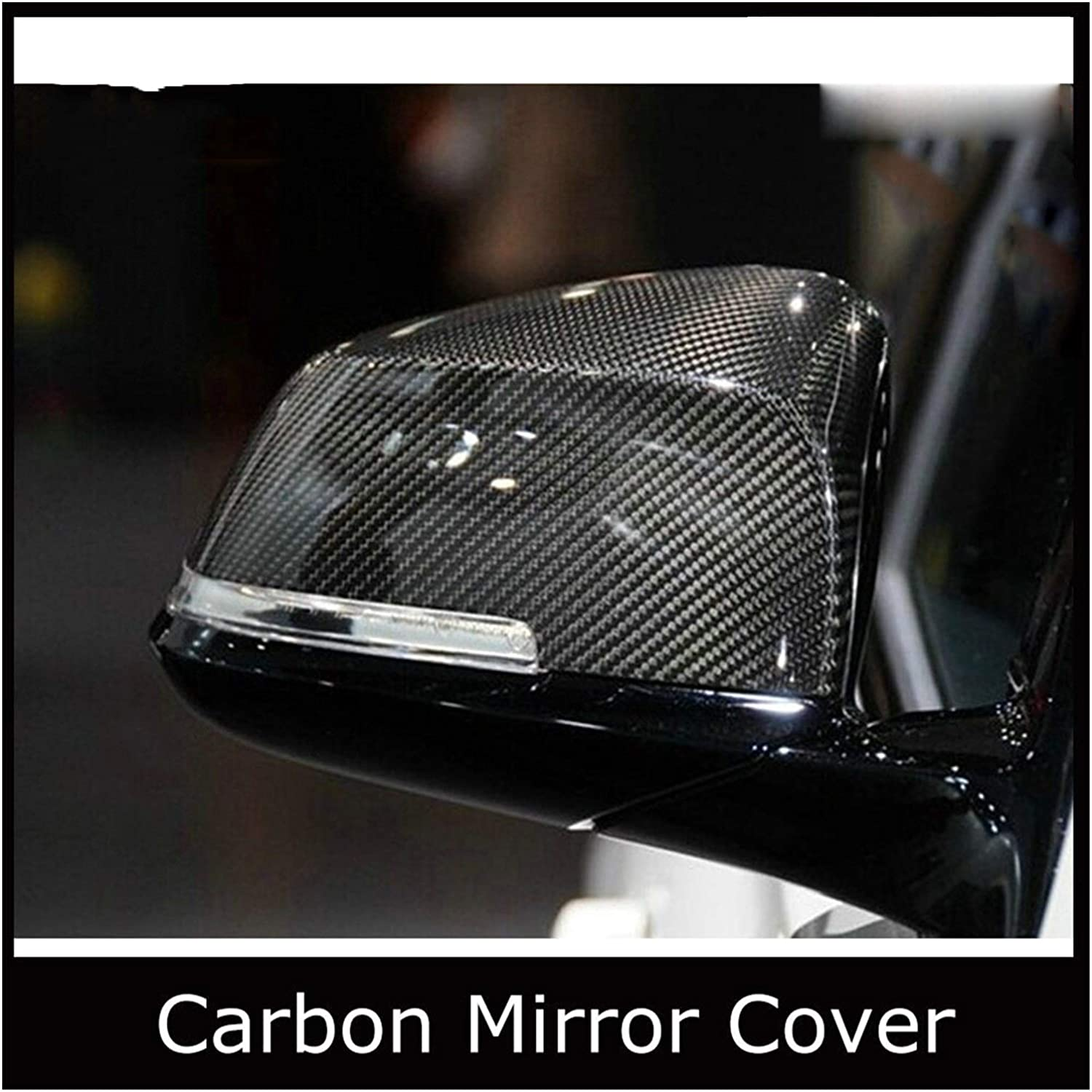 Spring new work one after another KOREY Side View Mirror Fiber Sales for sale Carbon Cove Replacement