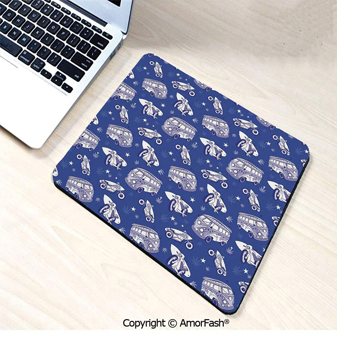 Heat Transferred Printing Mouse Pad for Office and Home,Non-Slip Rubber,11