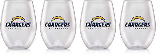 Duck House NFL unisex Plastic Stemless Wine Glass Set