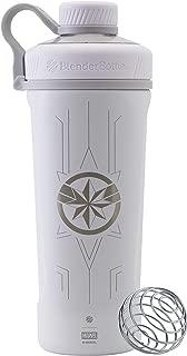 BlenderBottle Marvel Comics Radian Insulated Stainless Steel 26-Ounce Shaker Bottle, Captain Marvel