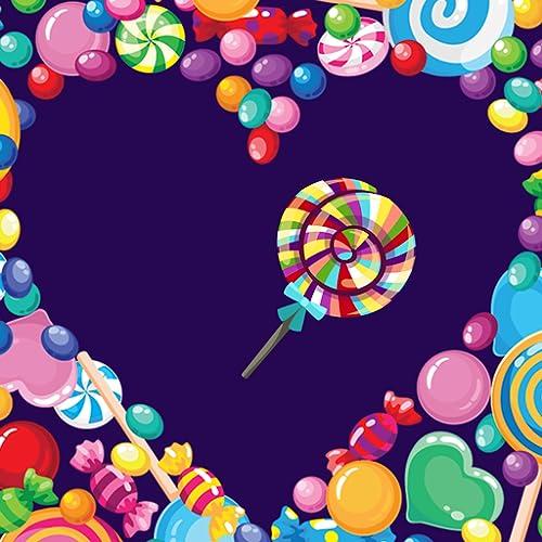 Süßigkeit-Foto-Collagen-Herausgeber